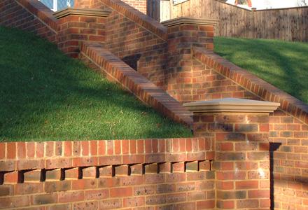 Brick Walls With Fencing