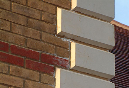 Kent balusters quoins for Brick quoins